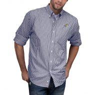 Montana State Bobcats NCAA Gingham Button-Down Check Shirt - Navy/White