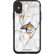 Montana State Bobcats iPhone Symmetry Marble Case - Black