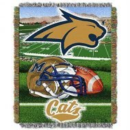 LHM NCAA Team Montana State Tapestry Throw