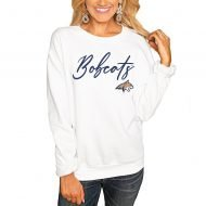 Montana State Bobcats Women's Win the Day Pullover Sweatshirt - White
